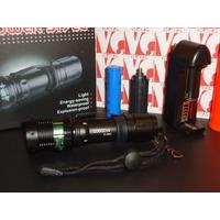 Lanterna Tatica Led Cree 20000w Resistente Agua E Quedas