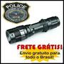 Kit Lanterna Tática Militar Profissional Police 1.5 Km