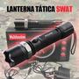 Lanterna Tatica Swat Cree Led Recarregável C Bateria Reserva