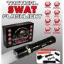 Lanterna Tática Swat Original Profissional Longo Alcance