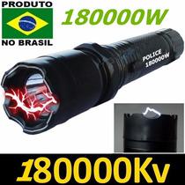 Lanterna Tática De Choque Teaser 88000w 88000kv Recarregavel