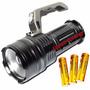 Lanterna Holofote Led 800000 Lumens 3 Baterias Super Potente