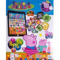 Pad Tablet Infantil Peppa Pig Brinq Intelig Jogos Musica Cri