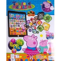 Tablet Ipadd Infantil Peppa C/ Musicas Jogos Interativo Letr