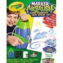 Crayola Aerografo Caneta Spray Airbrush Maker-pronta Entrega