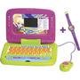 Laptop Infantil Polly Bilingue 48 Atividades Com Relogio