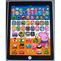 Mini Tablet Ipad Educativo Inteligente Peppa Pig Brinquedo