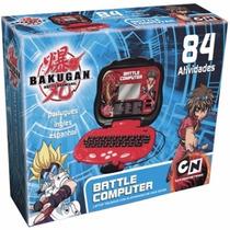 Laptop Bakugan Battle Computer - Trilíngue Com 84 Atividades