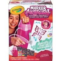 Crayola Marker Airbrush Rosa Pinturas Aerógrafo