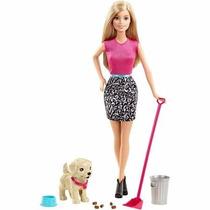 Boneca Barbie Potty Traini Pup - Com Cahorros Filhote