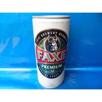 Lata De Cerveja Faxe Premium 1 Litro Vazia