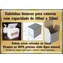 Kit 50 Caixinhas Brancas Para Canecas De 300 À 350ml - 21,00