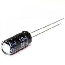 20 Peças Capacitor Eletrolítico 10uf 50 V Arduino Pic