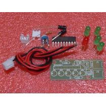 Kit Eletrônica Montagem Vu Led Bargraph Audio Level Frete $8