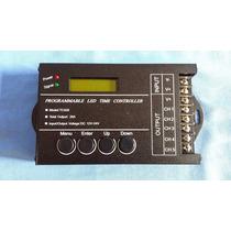 Controlador Timer/dimmer Digital P/ Leds - 5 Canais 12-24v