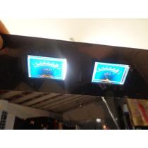 Vu Meter Analógico Gradiente Tape Deck/ Com Iluminaçao 12v
