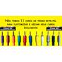 Espaguete Termo Retratil Para Plug P10 Colorido 5 Metros