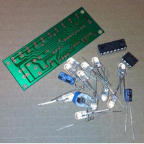 Kit Montagem Pisca Sequencial 10 Leds + 1 Led - Frete $9
