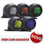 Farol Auxiliar 50w - 12v Com Lampada Dicroica Verde + Mp
