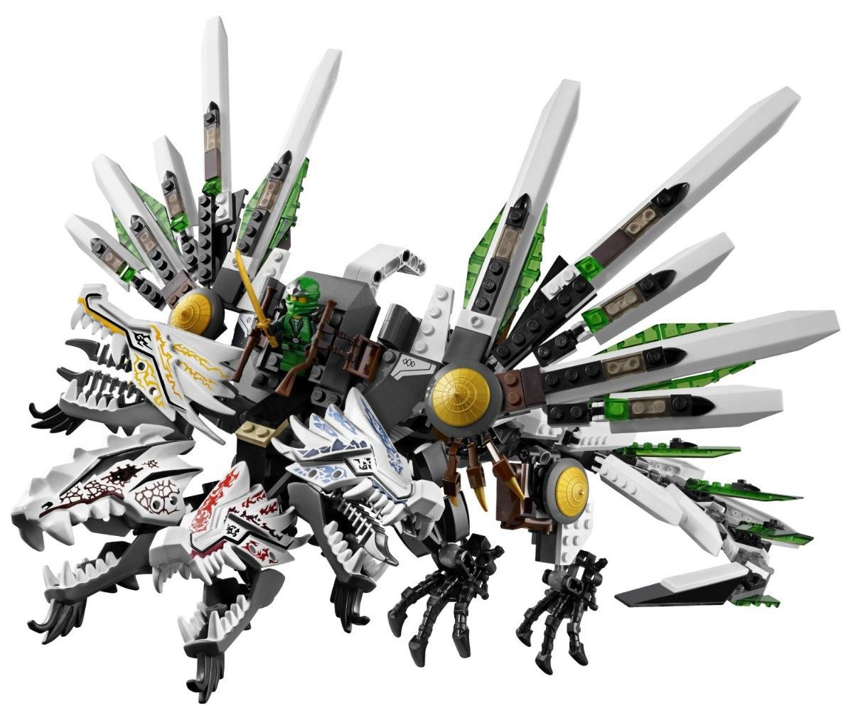 Lego Ninjago 9450 - Epic Dragon Battle - 915 Peças - R ...
