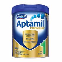 Aptamil Premium 1 Lata De 800 Grs 01 Cx Com 12 Un.