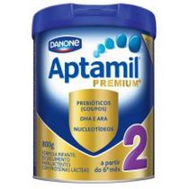 Leite Aptamil Premium 2 800g A Partir Do 6° Mes Infantil