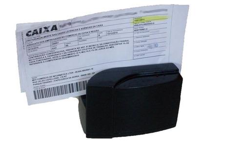 Leitor Código Barra Automático Superbank Tl840 Cheque,contas