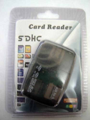 Leitor Memória Card Raader All In 1 - Todos Os Cartões