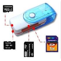 Pen Drive Multifuncional Leitor/gravador Cartão Sd Memory