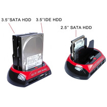 Case Hd All In One Hdd Doking Usb 2.0 / Sata 2 Backup Combo