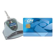 Kit Smartcard + Leitora Para Certificado Digital E-cpf