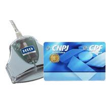 5 Kit Smartcard + Leitora Certificado Digital E-cpf + Ecnpj
