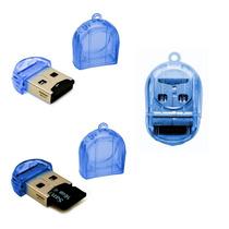 1 Unidades Mini Leitor De Cartão Memória Micro Sd Usb 2.0