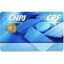 Cartão Smart Card Para Certificado Digital E-cpf