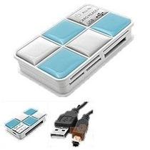 Leitor De Cartões Usb 2.0 P/ Cartão Compact Flash E Xd