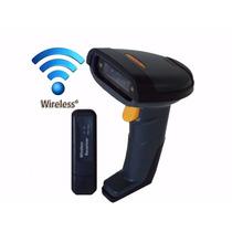 Leitor Scanner De Código Barra Laser Sem Fio Wireless -