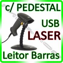 Leitor Código Barras Laser - Lê Tudo - *** Com Pedestal ***