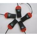 Lote 10 Peças Mini Leitor/adaptador Para Cartão Micro Sd