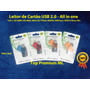 Leitor De Cartão Mémoria Sd Mini Micro Flash Usb 2.0 10in1