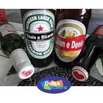 50 Rótulos De Cerveja Personalizados E Brinde