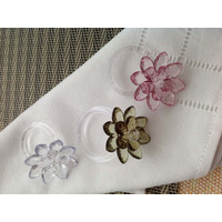 10 Porta Guardanapos Casamento Festas Eventos Flores