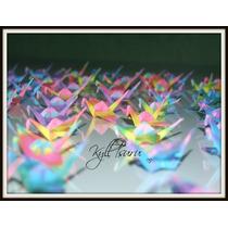 Origami Tsuru - Decoração - Lembranças - Mobiles *