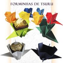 Forminhas De Doces Tsuru - Origami - 50 Unidades