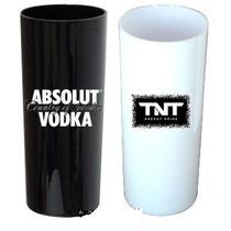 Copo Acrílico Long Drink Plástico R$1,30 Unid. Personalizado