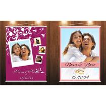 Banner Em Lona Casamento Personalizado Com A Foto Dos Noivos