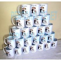 28 Canecas De Porcelana Personalizadas Padrinhos Casamento