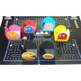 Forminhas Doces Personalizadas Pac Man - 100 Unidades