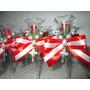 10 Lembrancinhas Tulipa C/ Tercinho/casamento/bodas/aniversá