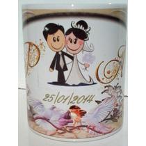 Caneca De Porcelana Personalizada Para Casamento