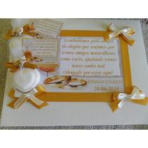 Lembrancinha De Mini Sabonete - Casamento Caixa Com 50 Unid